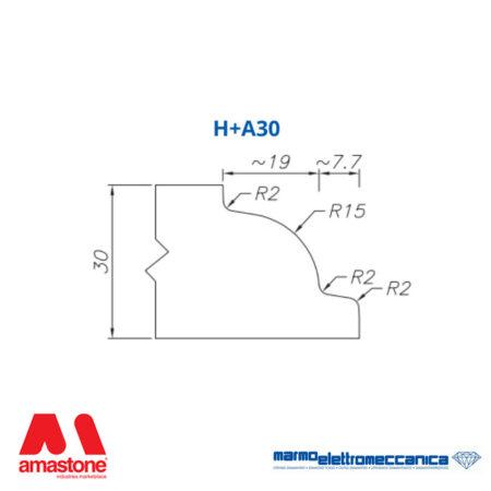 Mole sagomate Linea IW Profilo H+A30 - MEM