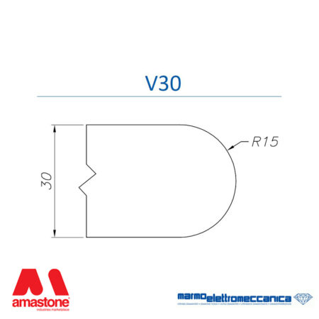 Mole sagomate Linea IW Profilo V30 - MEM