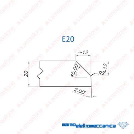 Mole sagomate Linea Master / Linea IW - Profilo E20 - MEM