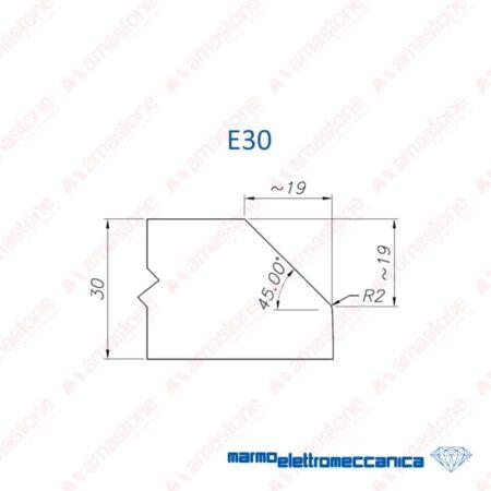 Mole sagomate Linea Master / Linea IW - Profilo E30 - MEM