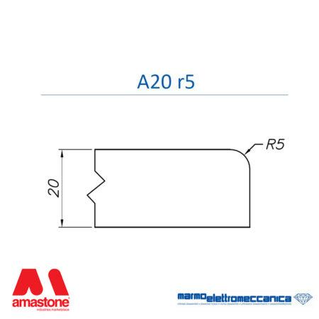 Mole sagomate Linea Master Profilo A20 r5 - MEM