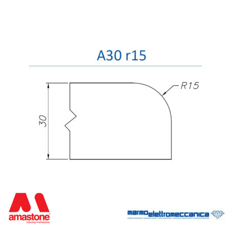 Mole sagomate Linea Master Profilo A30 r15 - MEM