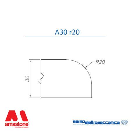 Mole sagomate Linea Master Profilo A30 r20 - MEM
