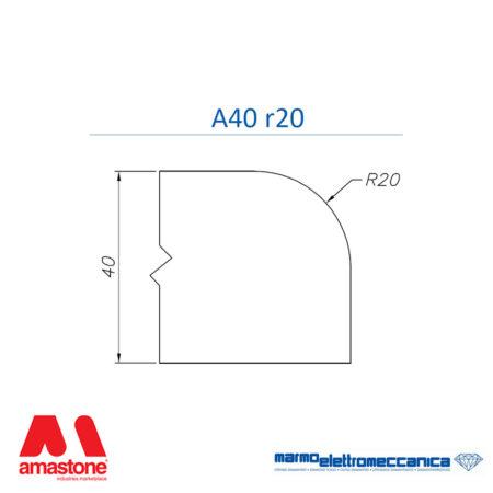 Mole sagomate Linea Master Profilo A40 r20 - MEM