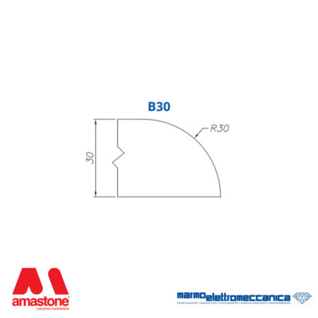 Mole sagomate Linea Master Profilo B30 - MEM