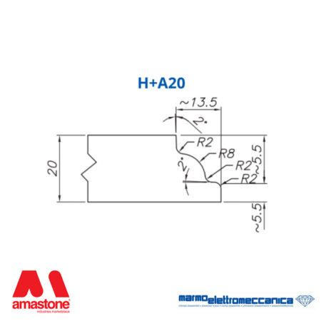 Mole sagomate Linea Master Profilo H+A20 - MEM