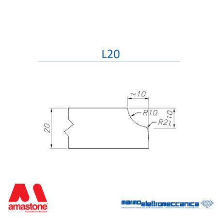 Mole sagomate Linea Master Profilo L20 - MEM