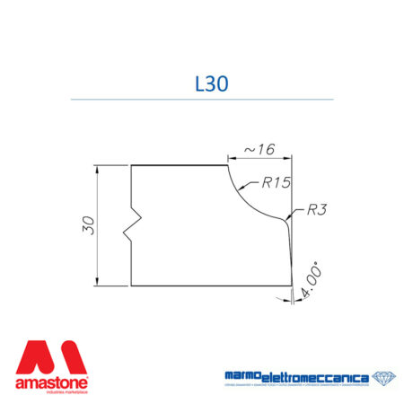 Mole sagomate Linea Master Profilo L30 - MEM