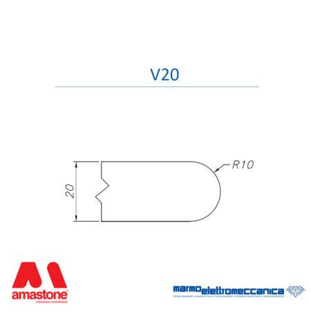 Mole sagomate Linea Master Profilo V20 - MEM