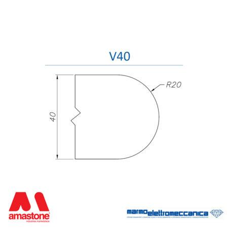 Mole sagomate Linea Master Profilo V40 - MEM