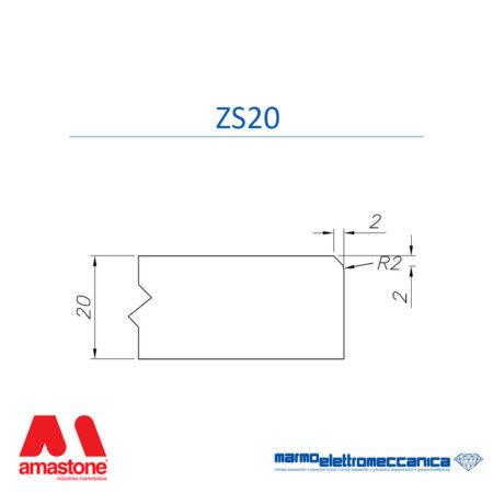 Mole sagomate Linea Master Profilo ZS20 - MEM