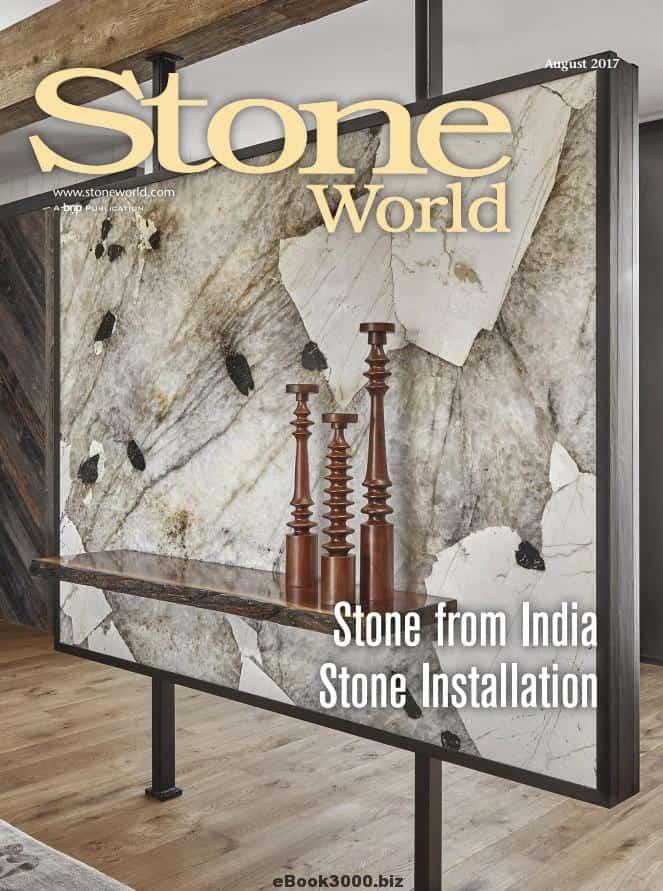 Stone World August 2017