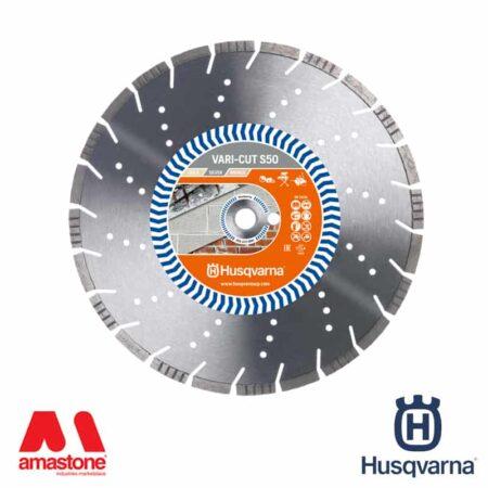 """Disco blocchi: mattoni """"versione SILVER"""" Vari-Cut S50 per mototroncatrici, taglierine, tagliasuolo e flex - Husqvarna"""
