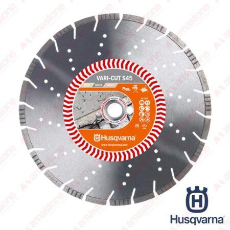 """Disco cemento """"versione SILVER"""" Vari-Cut S45 per mototroncatrici, taglierine, tagliasuolo e flex - Husqvarna"""