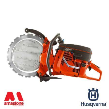 Mototroncatrice a scoppio K 970 Ring – diametro 370 mm – Husqvarna