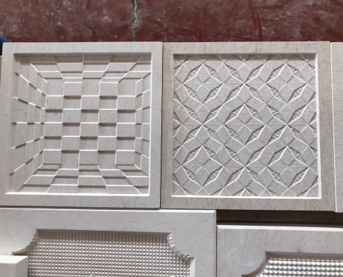 Tiles Effect On Marble Cnc Stone Router Amastone