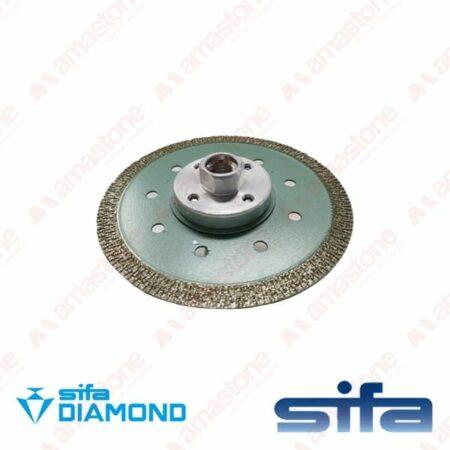 """Disco da taglio a corona continua """"Sankyo Diamond Electro Turbo"""" – Sifa"""