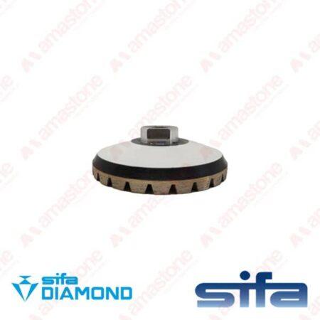 Mola diamantata a tazza per granito Rubber - Sifa