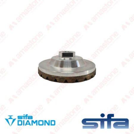 """Mola diamantata a tazza per granitoe cemento """"Silver"""" – Sifa"""