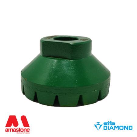 """Mola diamantata a tazza """" Turbetto"""" - Diametro 50 mm - Sifa"""