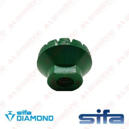 Mola diamantata a tazza Turbetto - Diametro 50 mm - Sifa