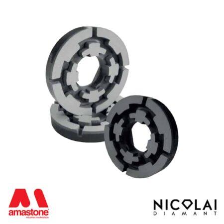 Mole lucidanti resinoidi Ø100 mm - Attacco Magnetico - Nicolai