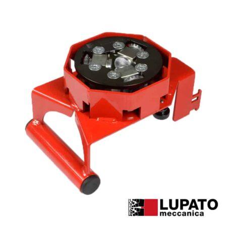 Piatto bocciardatore per smerigliatrice - Tanga L4-1W20 con pattino - Lupato