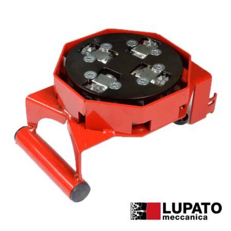Piatto bocciardatore per smerigliatrice - Tanga L4-2W10 con pattino - Lupato
