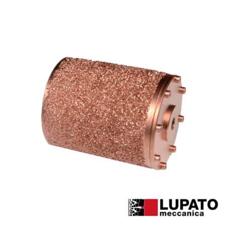 Rullo graffiatura Ø115 mm #1400 per smerigliatrice - Rollex - Lupato