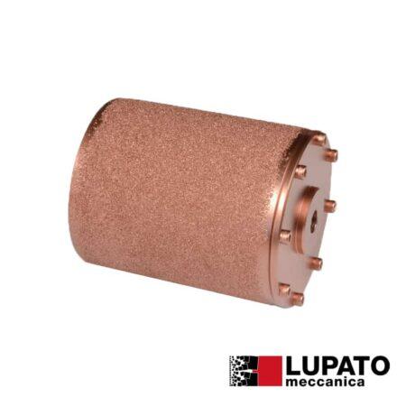 Rullo graffiatura Ø115 mm #400 per smerigliatrice - Rollex - Lupato