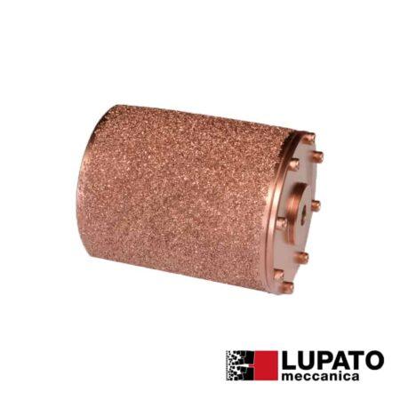 Rullo graffiatura Ø115 mm #800 per smerigliatrice - Rollex - Lupato