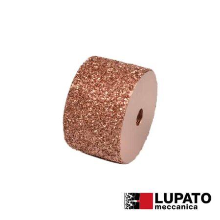 Rullo graffiatura Ø80 mm #1400 per smerigliatrice - Rollex - Lupato