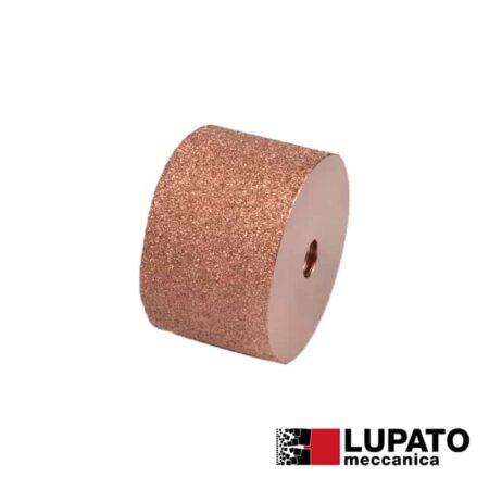 Rullo graffiatura Ø80 mm #400 per smerigliatrice - Rollex - Lupato
