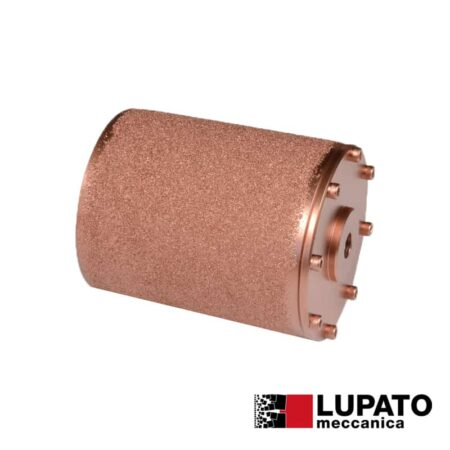 Rullo effetto rullato L. 140 mm / #400 per macchina Birba - Rollex - Lupato