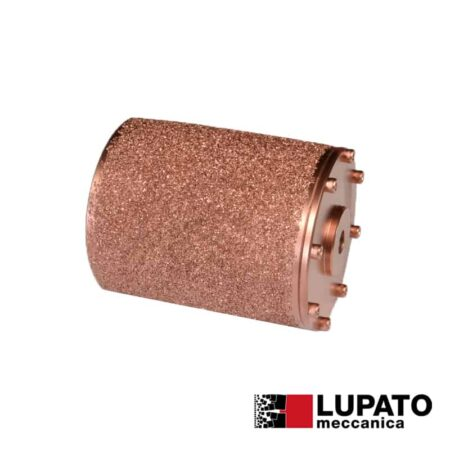 Rullo effetto rullato L. 140 mm / #800 per macchina Birba - Rollex - Lupato