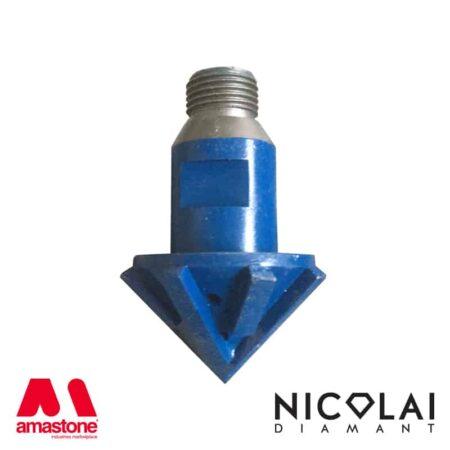Fresa 45° per granito e quarzo – Nicolai