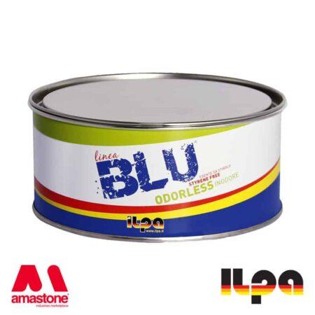 Mastice bicomponente BLU per incollaggio e stuccatura - Ilpa