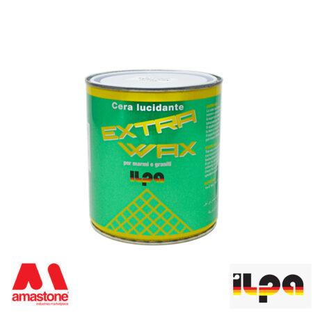 Cera per marmi solida base solvente Extra Wax - Ilpa