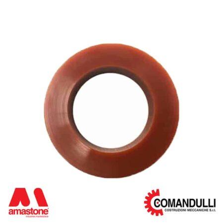 Anello in gomma per pressori bloccapezzi a ruota Comandulli