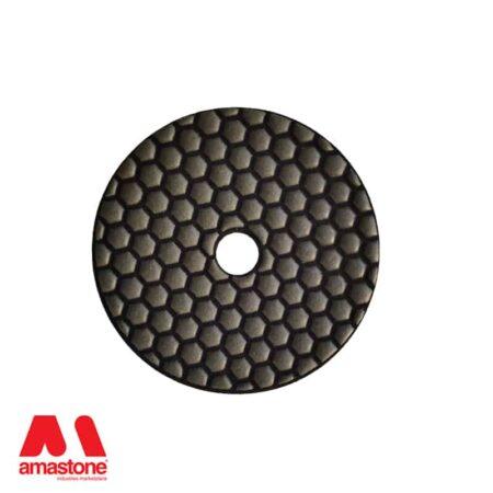 Dischetto lucidatura a secco Ø100 mm – Amastone