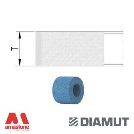 Mole periferiche lucidanti SHINY profilo piatto Ø25 mm - Vetro - Diamut