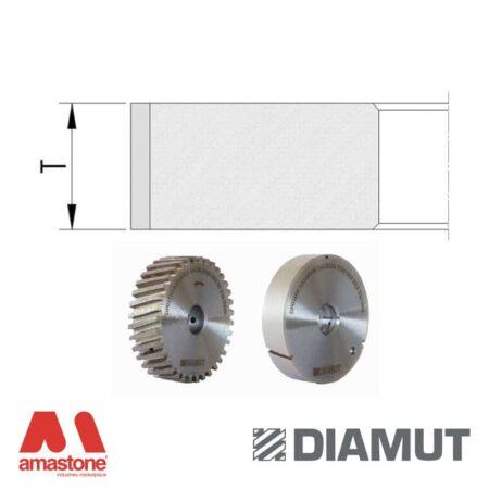 Mole periferiche profilo piatto Ø100 mm - Vetro - Diamut
