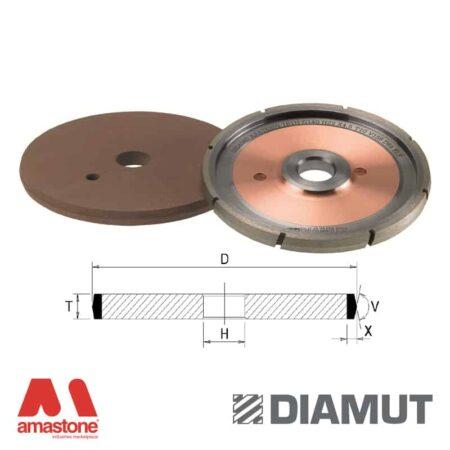 Mole per incisione sagoma ad angolo per CNC vetro - Diamut