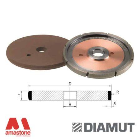 Mole per incisione sagoma concava per CNC vetro - Diamut