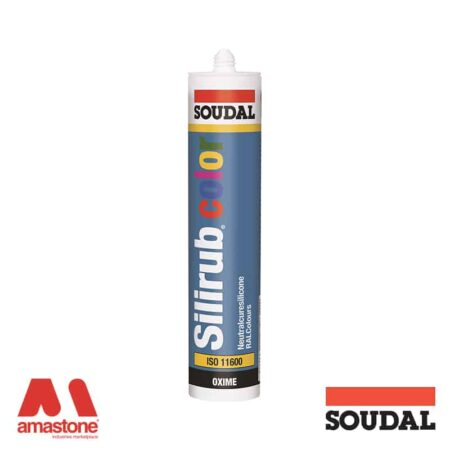 Sigillante neutro Silirub Color - Soudal