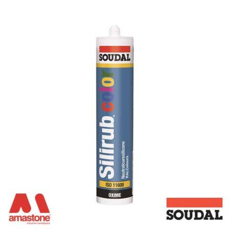 Sigillante neutro Silirub Color - Soudal