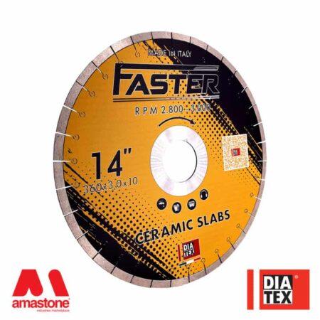 "Disco ceramica tagli veloci ""Faster"" per frese a ponte - Diatex"