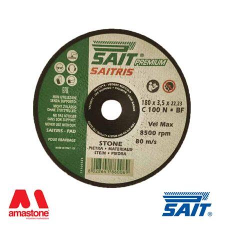 Disco convesso rinforzato per asportazione materiale SAITRIS - Sait