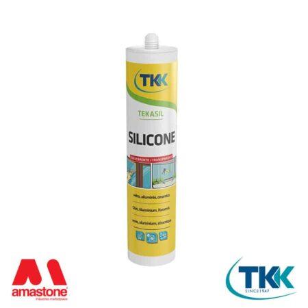 Silicone acetico universale trasparente TKK - Tekasil