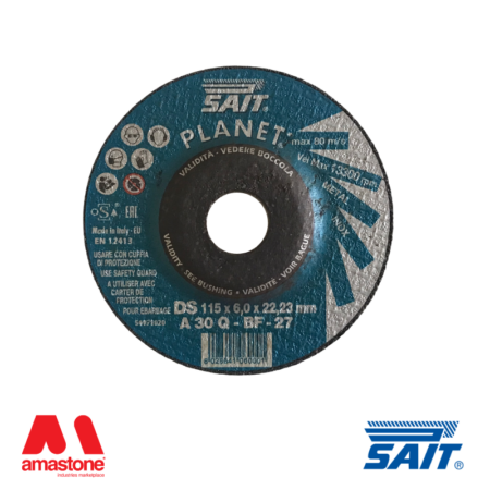 Mole da sbavatura 6mm per metalli Planet-DS A30Q - SAIT